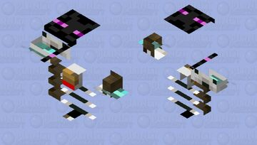 Destructus rage mode's/phase 2's armor Minecraft Mob Skin