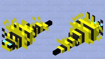 Silverfish Bee Minecraft Mob Skin
