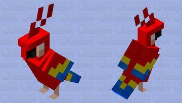 Creepy Birdy Minecraft Mob Skin