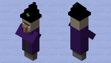 Smoothy Witch Minecraft Mob Skin