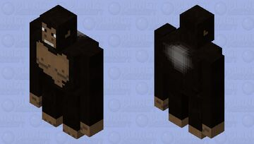 Gorilla Minecraft Mob Skin