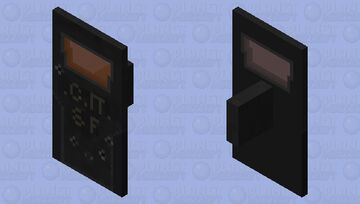 Special force riot shield Minecraft Mob Skin