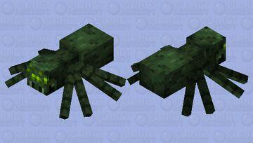 Swamp Spider Minecraft Mob Skin