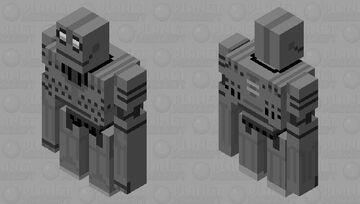 The Iron Giant Minecraft Mob Skin