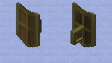 Bronze Kiteshield (t) | OSRS Minecraft Mob Skin