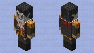 Dracula the Vindicator Minecraft Mob Skin