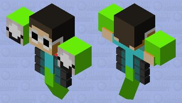 Dream and George Wither Minecraft Mob Skin