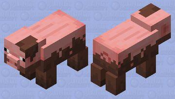 muddy pig (minecraft earth ) Minecraft Mob Skin