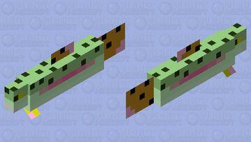 Rainbow Trout Minecraft Mob Skin
