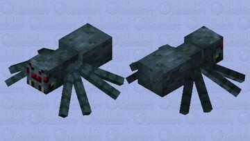 Wither Spider Minecraft Mob Skin