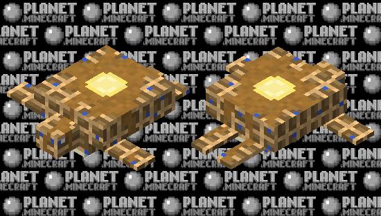 Blueberry Waffle Turtle Minecraft Skin
