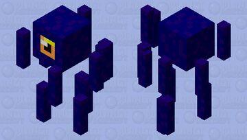 Blaze squid Minecraft Mob Skin