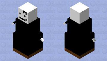 Henry Stickmin Snow Golem Minecraft Mob Skin