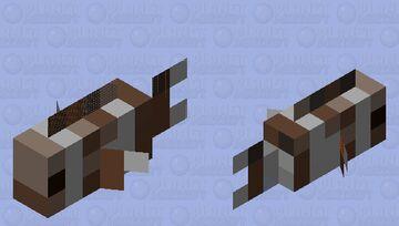 Dead fish Minecraft Mob Skin