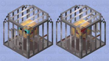 Bird in a cage Minecraft Mob Skin