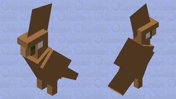 villager parrot Minecraft Mob Skin