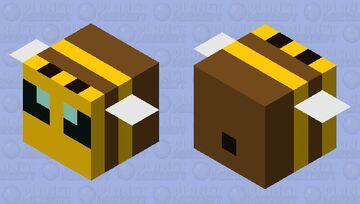 Medium Bee Minecraft Mob Skin