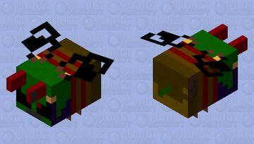 Evil Bee Minecraft Mob Skin