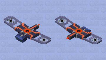 Hi-tech drone phantom Minecraft Mob Skin