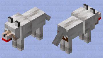 Mad Wolf Minecraft Mob Skin