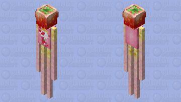 Strawberry Pocky Sticks Minecraft Mob Skin