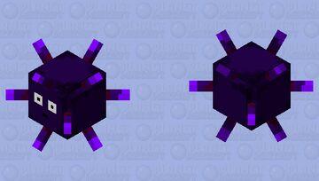 Purple Sea Urchin Minecraft Mob Skin