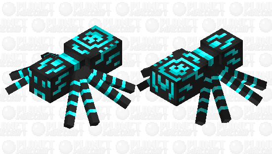 Cyber Spider Minecraft Skin