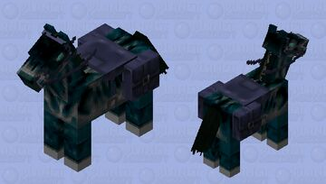 The Soul Knight 's Horse Minecraft Mob Skin