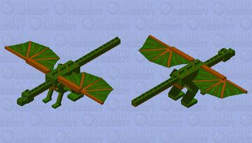 Dragon of the Forest Minecraft Mob Skin