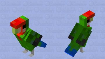 Lovebird (Valentines Day) Minecraft Mob Skin