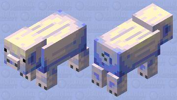 Arctic Pig Minecraft Mob Skin