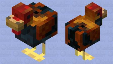 Rooster Minecraft Mob Skin