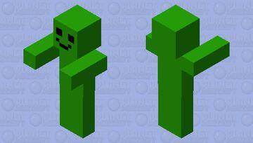 green boi Minecraft Mob Skin