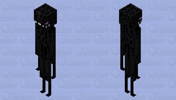 Better Enderman. Minecraft Mob Skin