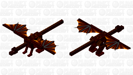 Excandor, Beast of Flame Minecraft Skin