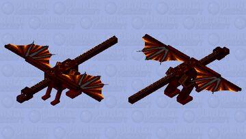 Excandor, Beast of Flame Minecraft Mob Skin