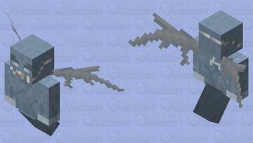 Corona mask-vex Minecraft Mob Skin