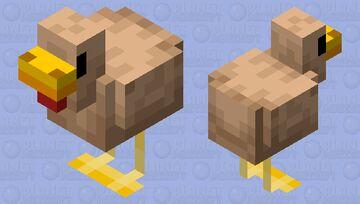 Improved Chicken Minecraft Mob Skin