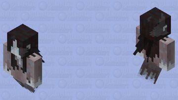 Okiku the Yurei (not charging) Minecraft Mob Skin