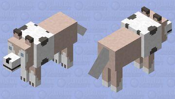Lycanroc (Lougaroc) Minecraft Mob Skin