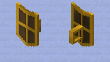 Bronze Kiteshield (g) | OSRS Minecraft Mob Skin