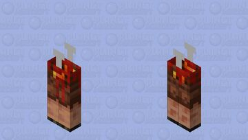 dead piglin(Among us) Minecraft Mob Skin