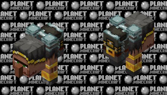 buff trader / wandering brute Minecraft Skin