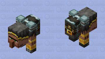 buff trader / wandering brute Minecraft Mob Skin