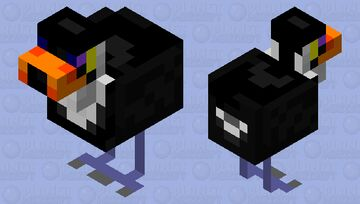 Toco toucan Minecraft Mob Skin