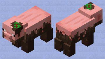 Muddy Pig from Minecraft Earth Minecraft Mob Skin