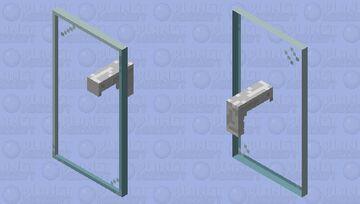 Glass Shield (Handle Refined) Minecraft Mob Skin