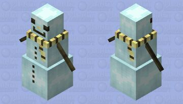 Frosteh Minecraft Mob Skin