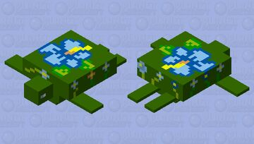flower turtle (my entry for flower mob skin contest) Minecraft Mob Skin
