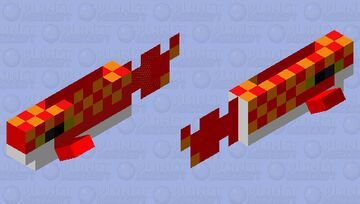 the red spotted newt Minecraft Mob Skin